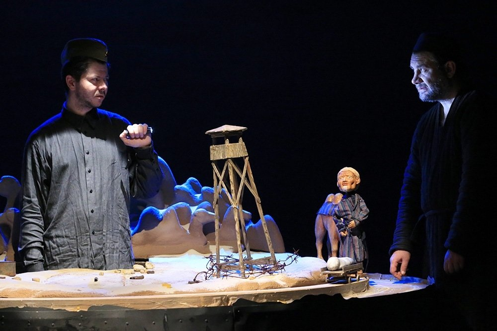 В музее ГУЛАГа поставили спектакль по Айтматову