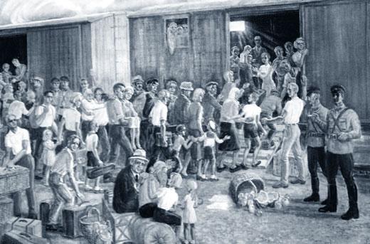 Немцев выселили в голую степь за «пособничество многочисленным шпионам и диверсантам»