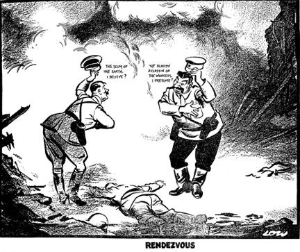 Приравнивание СССР к режиму нацистов может стать преступлением
