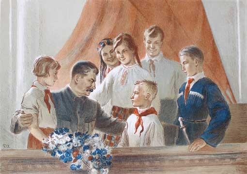Как Иосиф Сталин кушал детей