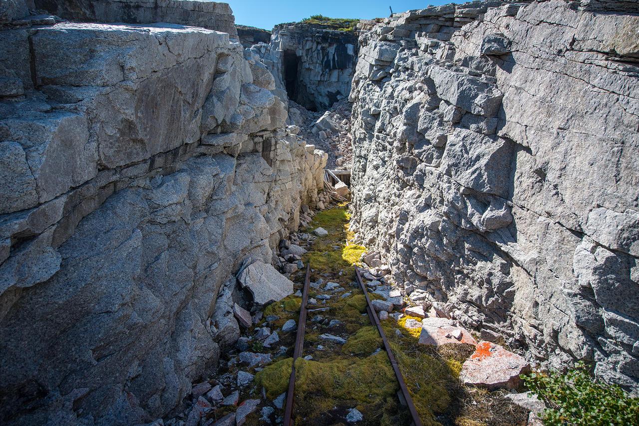 Остатки уранового лагеря в Магаданской области. Фотографии из экспедиции Музея истории ГУЛАГа