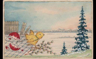 Пасха в ГУЛАГе: самодельные открытки и воспоминания заключенных