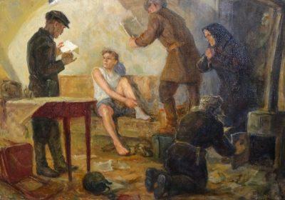 «Собирались и рассказывали антисоветские анекдоты». Выставка художника Горелова
