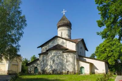 Псковская Голгофа: храм Старое Вознесение