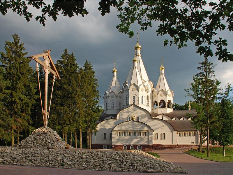 Церковь на Бутовском полигоне