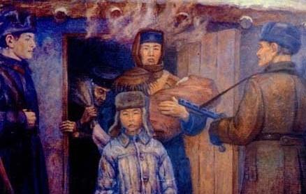 Депортация Калмыков