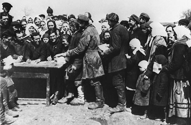 Крестьяне, 1930 год