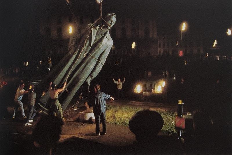 22 августа 1991 года. Площадь Дзержинского в Москве