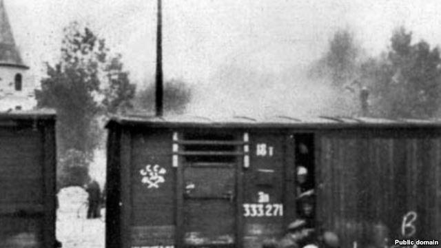 Латвия,1941 год. Депортация в Сибирь