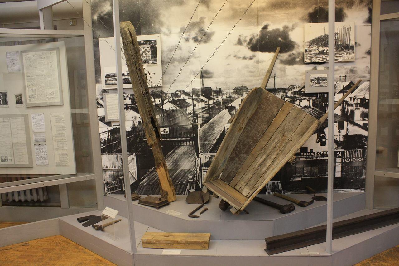 Краеведческий музей Северодвинска.Часть экспозиции о ГУЛАГе (фото: Владислав Стаф)