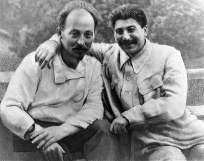 Дзержинский и Сталин. Фото: РИА Новости